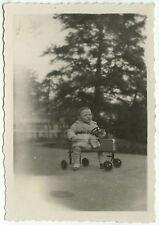 PHOTO ANCIENNE - VOITURE À PÉDALES ENFANT VÉLO - OLD TOY BIKE - Vintage Snapshot