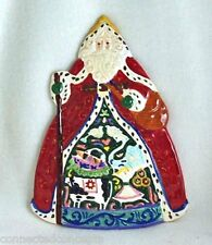 Christmas Jim Shore Holiday Traditions Santa Claus Cheese Plate (12617) NEW!