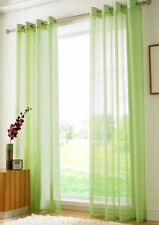 Voile Eyelet Top Curtains