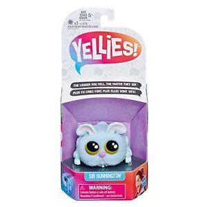 Yellies! Voice-Activated Bunny Pet Toy - Sir Bunnington
