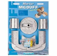 MG Duff Martyr Zinc Anode Kit for Mercury / Mercruiser Bravo 2 3