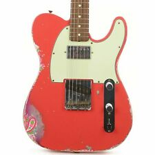 Fender Custom Shop Limited Edition '60s HS Telecaster Fiesta Red over Pink Paisl