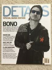 U2 Bono cover Details magazine November 2001 Unread Nm
