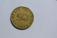 SARRE 50 FRANKEN 1954 RARE