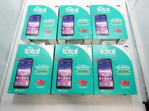 Lot of 6 New LG Journey LTE L322DL Total Wireless 16GB Check IMEI NIB 6-6092