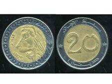 ALGERIE  ALGERIA 20 dinars  2007   ANM   ( SUP )