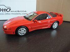 MITSUBISHI 3000 GT rouge 1/18 OTTO OTTOMOBILE OTTOMODELS