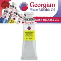 Daler Rowney Georgian Water Mixable Oil Paint 37ml Tubes 40 Colours Available