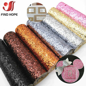 Self Adhesive Chunky Glitter Fabric Vinyl 3D Wallpaper Stair Border Sticker Roll