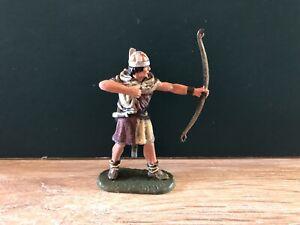 Elastolin: Medieval Archer. Aiming. Post War. 70mm Plastic Figure