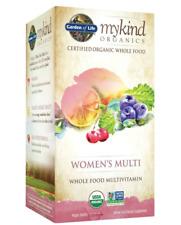 Garden of Life Women's Multi Certified Organic Whole Food 120 vegan tablets