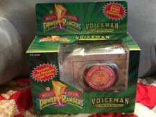 Mighty Morphin Power Rangers Voice Man Audio Cassette Tape Player Recorder Works