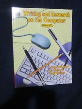 Writing and Research on the Computer by Kathleen Schrock 2001, PB/CD Rom New