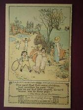 POSTCARD RANDOLPH CALDECOTT - ONE SAID THAT THEY WERE CHILDREN (1)