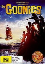 The Goonies DVD BRAND NEW SEALED TOP 500 MOVIES Steven Spielberg R4
