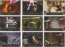 "Star Wars Galactic Files - ""Duels of Fate"" Set of 10 Chase Cards #DF1-10"