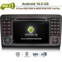 "7"" Android 10 Autoradio GPS Navi Navigation Mercedes Benz ML/GL-Class W164 X164"