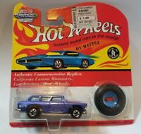 Hot Wheels 25th Anniversary Nomad Purple Redline Vintage Collection Blister 5743