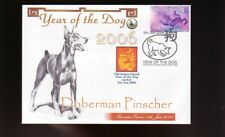 DOBERMAN PINSCHER COVER, 2006 YEAR OF THE DOG STAMP 1