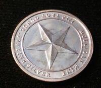 2014 BU 1/10 Oz .999 Silver Republic of Texas  PARADIME USA Round