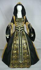 Vestido de boda Renaissance Tudor Medieval handfasting Larp Vestido de disfraz (MD-03)