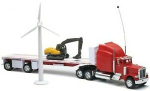 NEW88825 - Truck 6x4 Peterbilt 389 Radio Ordered And Plateau 2 Axles With Pel