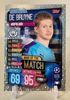 Kevin De Bruyne 2019-20 Topps Match Attax Champions League Man Of The Match MMCY