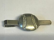 on a Tie Clip (slide) Baseball Tg163 Fine English Pewter