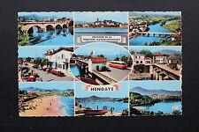 Carte postale semi-moderne 1964 HENDAYE - Frontière Franco-Espagnole