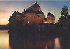 AK - Lac Leman - Le Chateau de Chillion illuminé