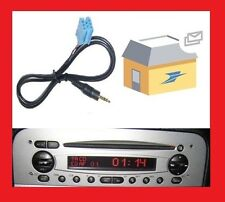 Cable auxiliaire mp3 ipod mini iso autoradio jack ALFA ROMEO 147 DE 2002 PHASE 1