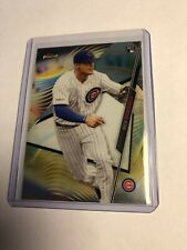 2020 Topps Finest Nico Hoerner Rookie #45 Chicago Cubs 🔥