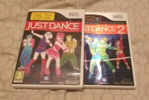 Just Dance 1 And 2 Wii PAL Wii Dance Bundle