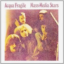 CD PAPER SLEEVE VINYL RÉPLICA ACQUA FRAGILE MASS-MEDIA STAR ( ROCK PROGRESSIF )
