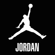 Air Jordan Logo, Van, Laptop, Vinyl Decal Sticker