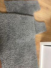 Grey Bathroom Accessories Mat Set