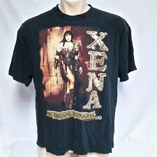 VTG 1997 Xena Warrior Princess T Shirt 90s Television TV Tee Cinema MCA Movie XL