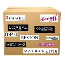 100 nail varnish polish WHOLESALE  loreal barry m maybelline rimmel uk mixed lot