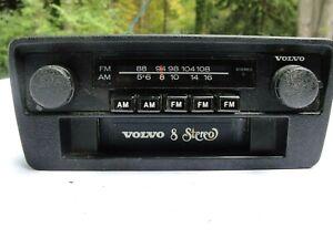 75-80 VOLVO 242 244 245 262 264 265 OEM AM FM RADIO 8-TRACK CASSETTE PLAYER