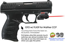 ArmaLaser GTO for Walther CCP 9mm RED Laser Sight w/ FLX59 Grip Touch Activation