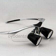 2.5X Dental Loupe Binocular Medical Surgical Magnifying Glass TTL Series Sliver