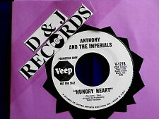 ANTHONY AND THE IMPERIALS~HUNGRY HEART~RARE PROMO~VEEP1278~ NORTHERN SOUL 45
