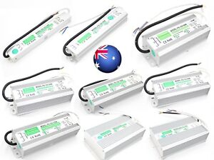 IP67 Waterproof Transformer Power Supply Adapter AC to DC 12V/24V LED Driver AU