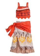 DISNEY Store MOANA COSTUME for KIDS 7/8 NWT