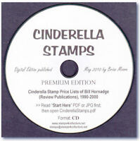 Cinderella Stamps 1990-2000 Pricelists of Bill Hornadge 860 pages on CD