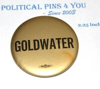 1964 BARRY GOLDWATER campaign pin pinback button political presidential election