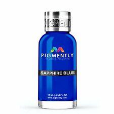 Sapphire Blue Liquid Epoxy Pigment Resin Dye | Premium Pigmently Colors