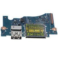 "Dell XPS 13 9343 13.3/"" Genuine USB Card Reader Power Button Board LS-B441P"