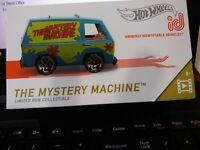Hot Wheels Id 2019 Mystery Machine SCOOBY -Doo. Series 1 MINT IN BOX