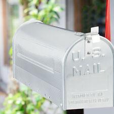 Relaxdays amerikanischer Briefkasten, Aluminium Fahne, US Mailbox Letterbox